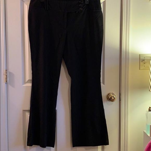 Star City Pants - Black dress pants
